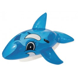 Baleine gonflable chevauchable