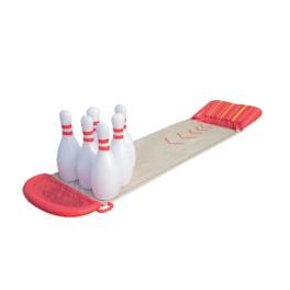 Tapis de glisse jeu de Bowling avec jet d'eau
