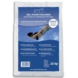Sel pour piscine électrolyseur - 25 kg